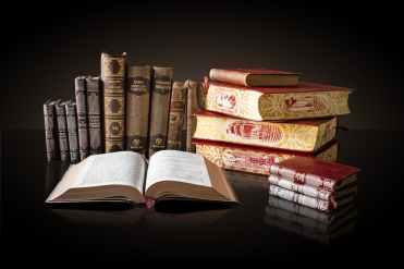 bookcase books collection cover