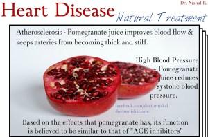pomegranate - heart disease