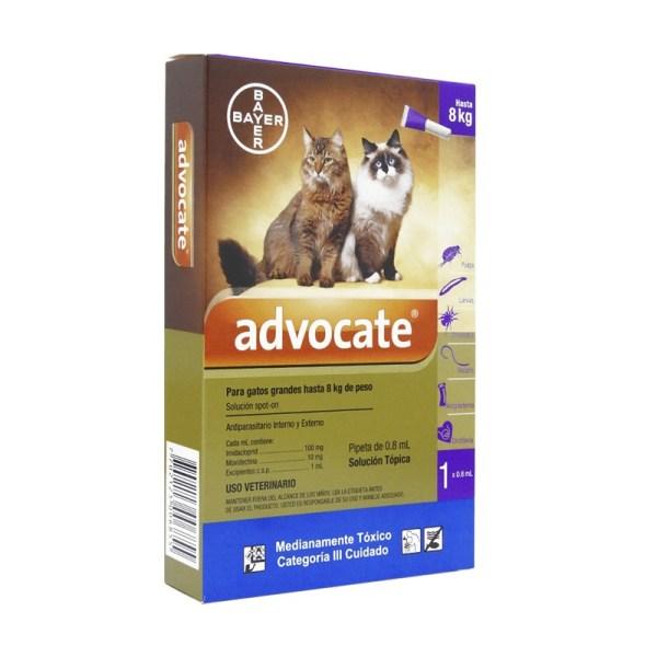 Advocate Gatos Hasta 8kg