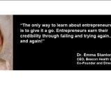 Dr Emma Stanton; Founder of Diagnosis