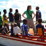 Dr. Amy Lehman, Founder of the Lake Tanganyika Floating Health Clinic