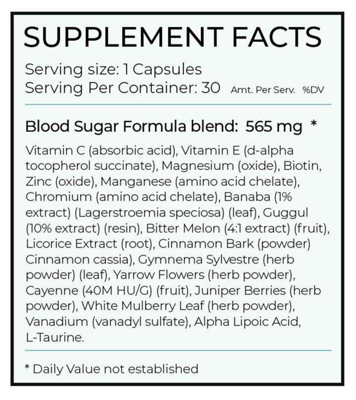 Blood-Sugar-Formula-ingredients