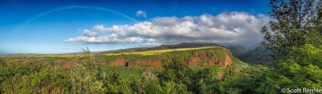 Start of Waimea Canyon