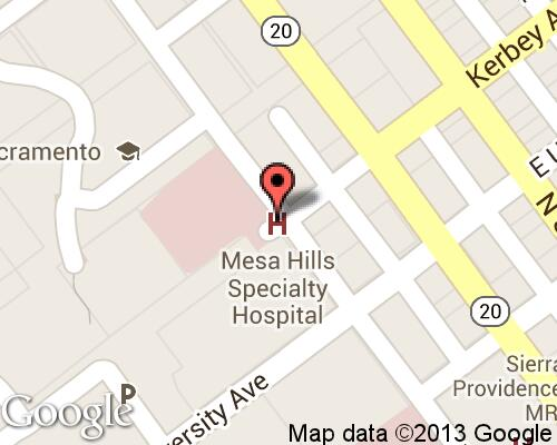 Mesa Hills Specialty Hospital