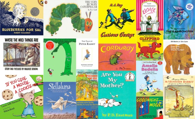 childrensbookscollage creative commons