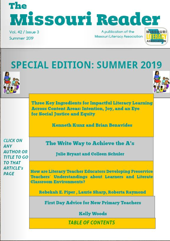Summer Issue of the Missouir Reader