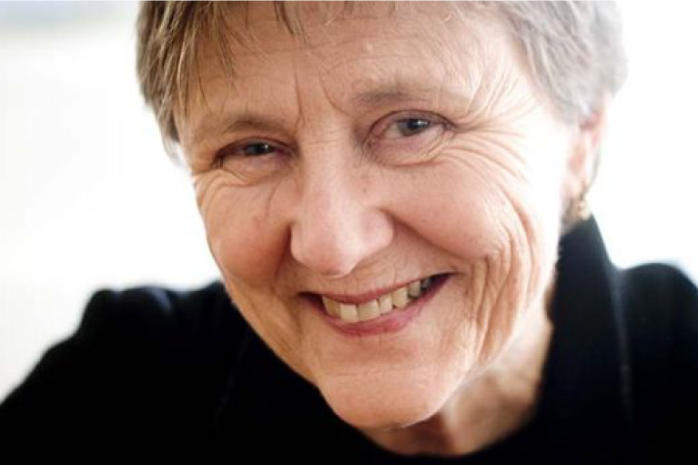 "Headshot of the author of the novel ""The Spare Room"" by Helen Garner."