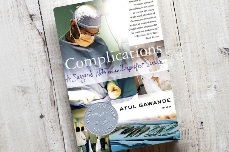 The book Complications by Atul Gawande