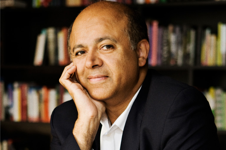 Headshot of Abraham Verghese