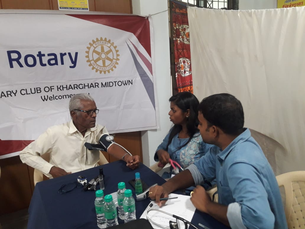 Medical Camp Rotary Club Kharghar - Doctor's Diary