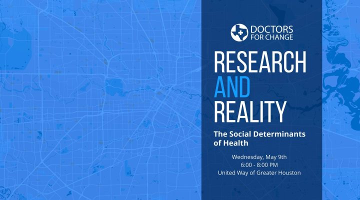 "May 9: ""Research and Reality: The Social Determinants of Health"""