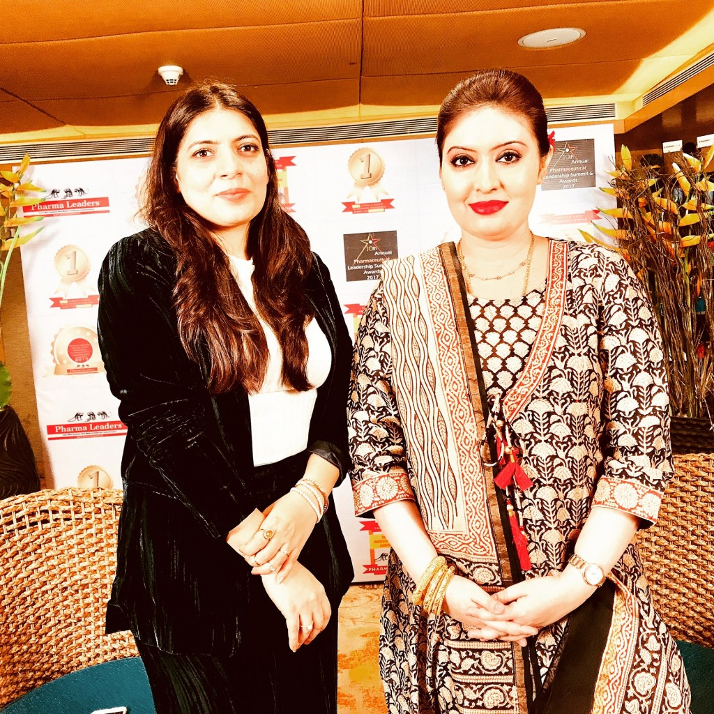 Interview with BBC India Correspondent Ms. Divya at Pharmaceutical Leadership Summit & Awards 2017