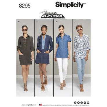simplicity-top-tunic-pattern-8295-envelope-front