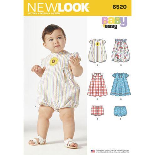 newlook-baby-romper-pattern-6520-envelope-front