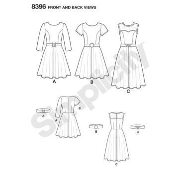 simplicity-everyday-cosplay-pattern-8396-front-back-view