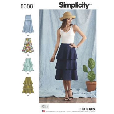 simplicity-tiered-flounce-skirt-pattern-8388-envelope-front