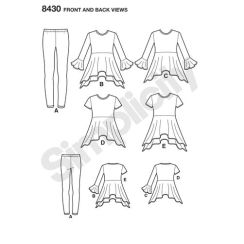 simplicity-children-separates-pattern-8430-front-back-view