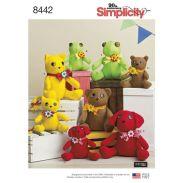 simplicity-felt-stuffies-pattern-8442-envelope-front