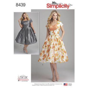 simplicity-retro-dress-miss-plus-pattern-8439-envelope-front