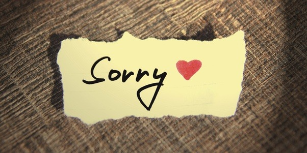 Stop Saying You're Sorry