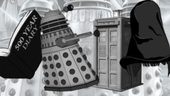 Power of the Daleks Twitter Stickers From BBC