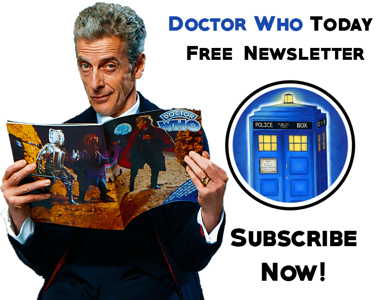 Doctor Who Email Newsletter