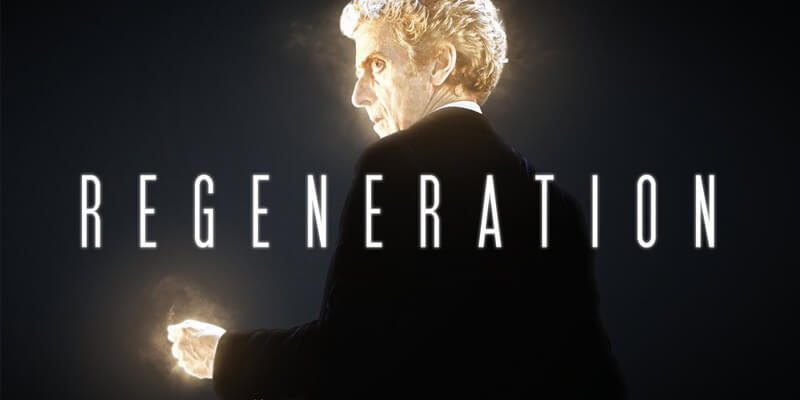 Doctor Who Peter Capaldi Regeneration