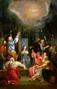 the-pentecost-louis-galloche 1670-1761