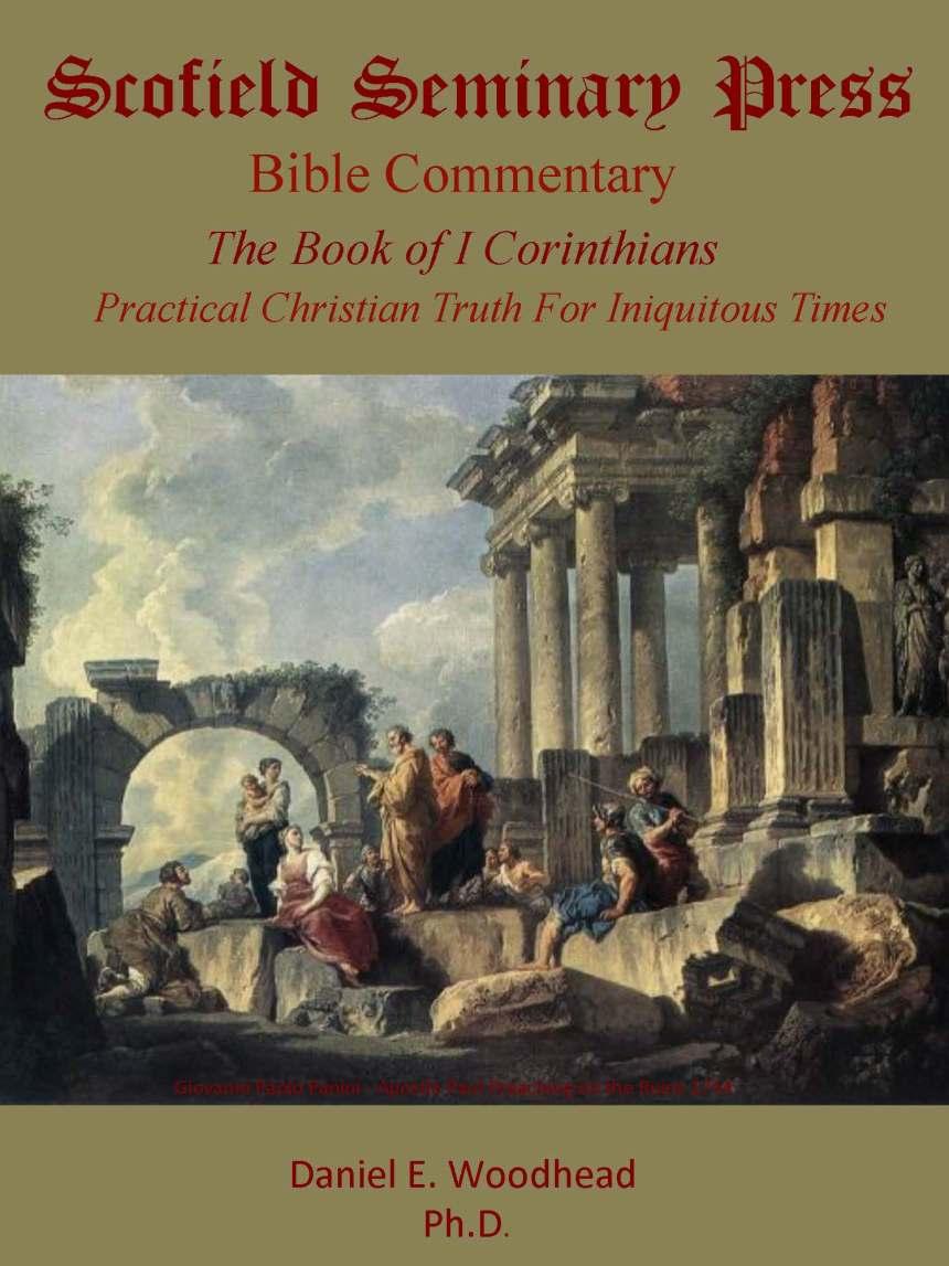 I corinthians Book Cover