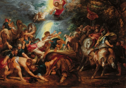 The Conversion of St Paul by Rubens Cir 1601-02