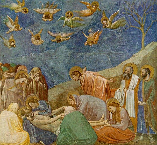 The Lamentation by Ciotto de Bondone Cir 1304-06