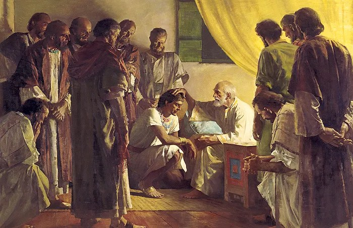 The Sons of Israel Receive Blessings - Theology in Perspective