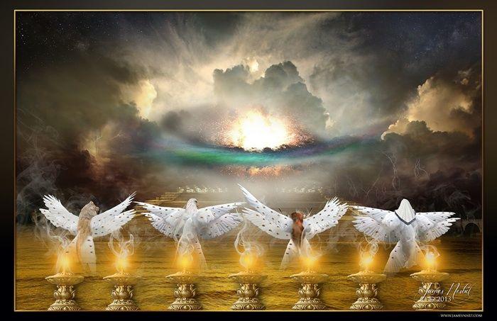 Throne Room of God from jamesnart.net