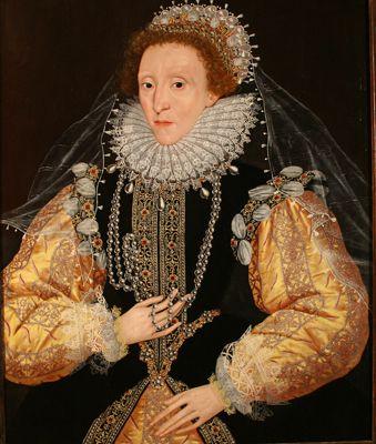 Queen Elizabeth I Cir. 1588 Artist Unknown.