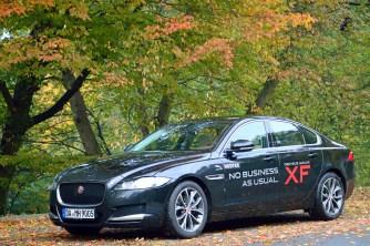 Jaguar XF - Test I