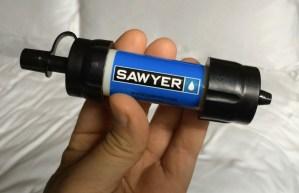 Sawyer Mini Water Filter (a mini review)