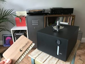 The Pro-Ject VC-S Vinyl Record Cleaner