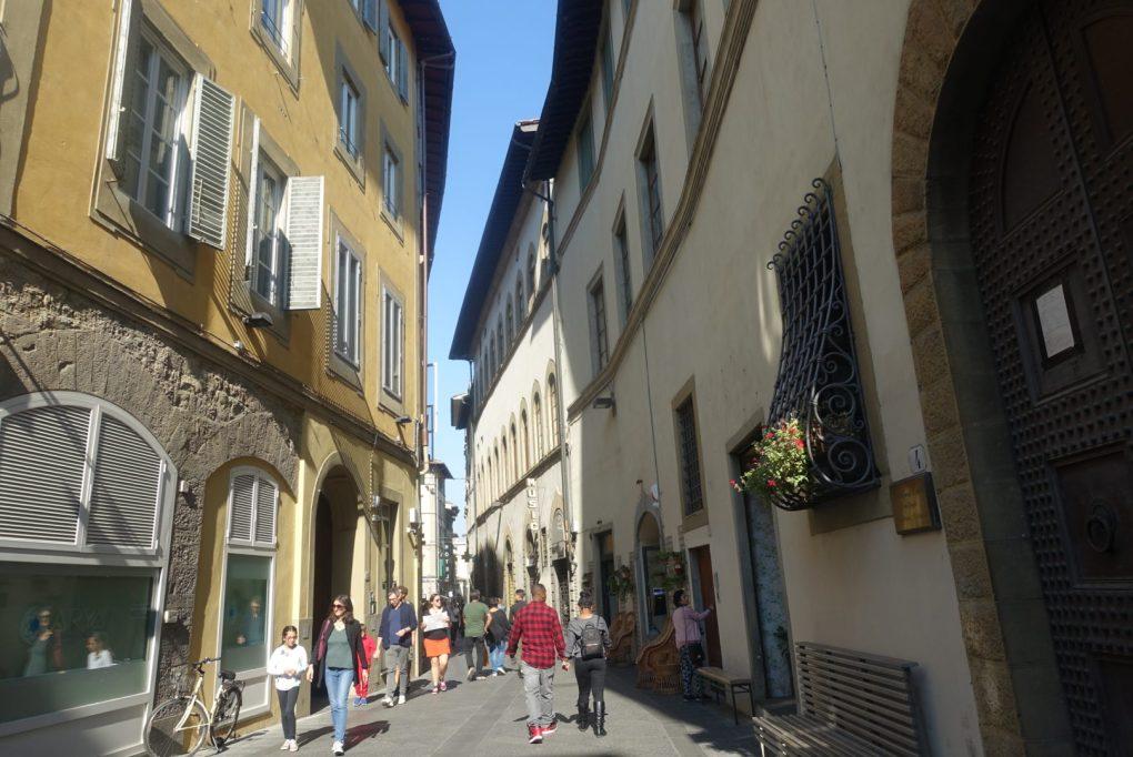 イタリア フィレンツェ 街並み 散策