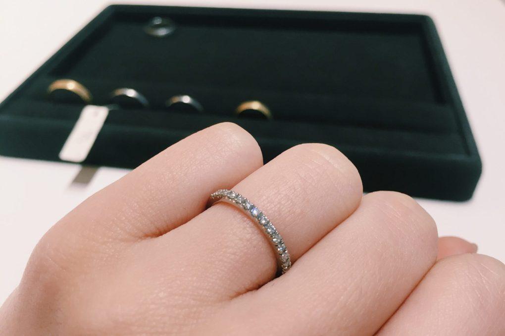 ブリリアンスプラス 結婚指輪 マリッジリング 婚約指輪 銀座