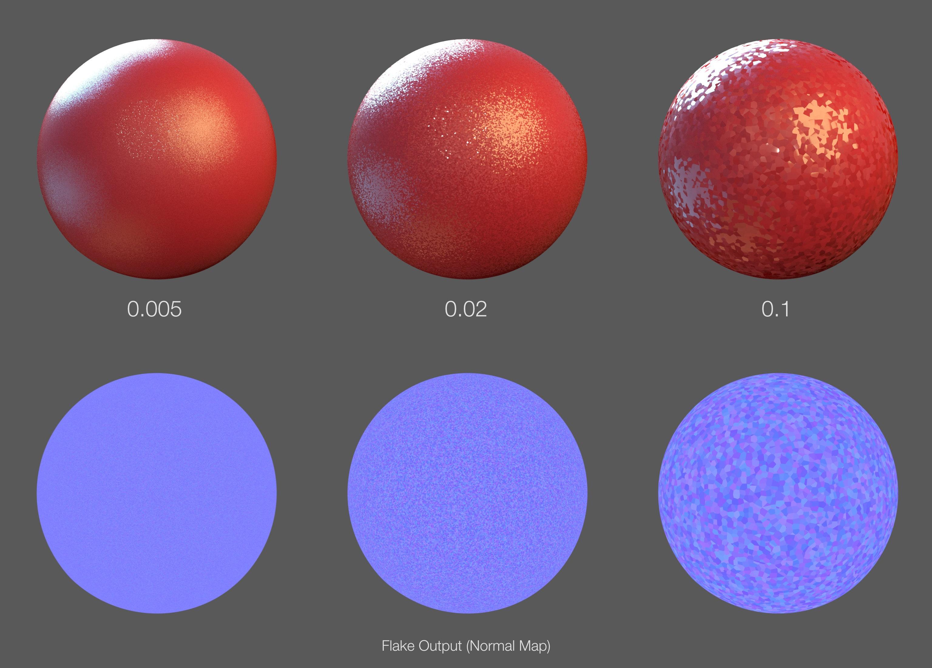 Flakes - 3DELIGHT   MAYA - 3DL Docs