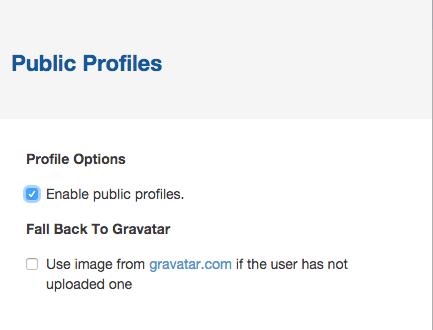public profiles