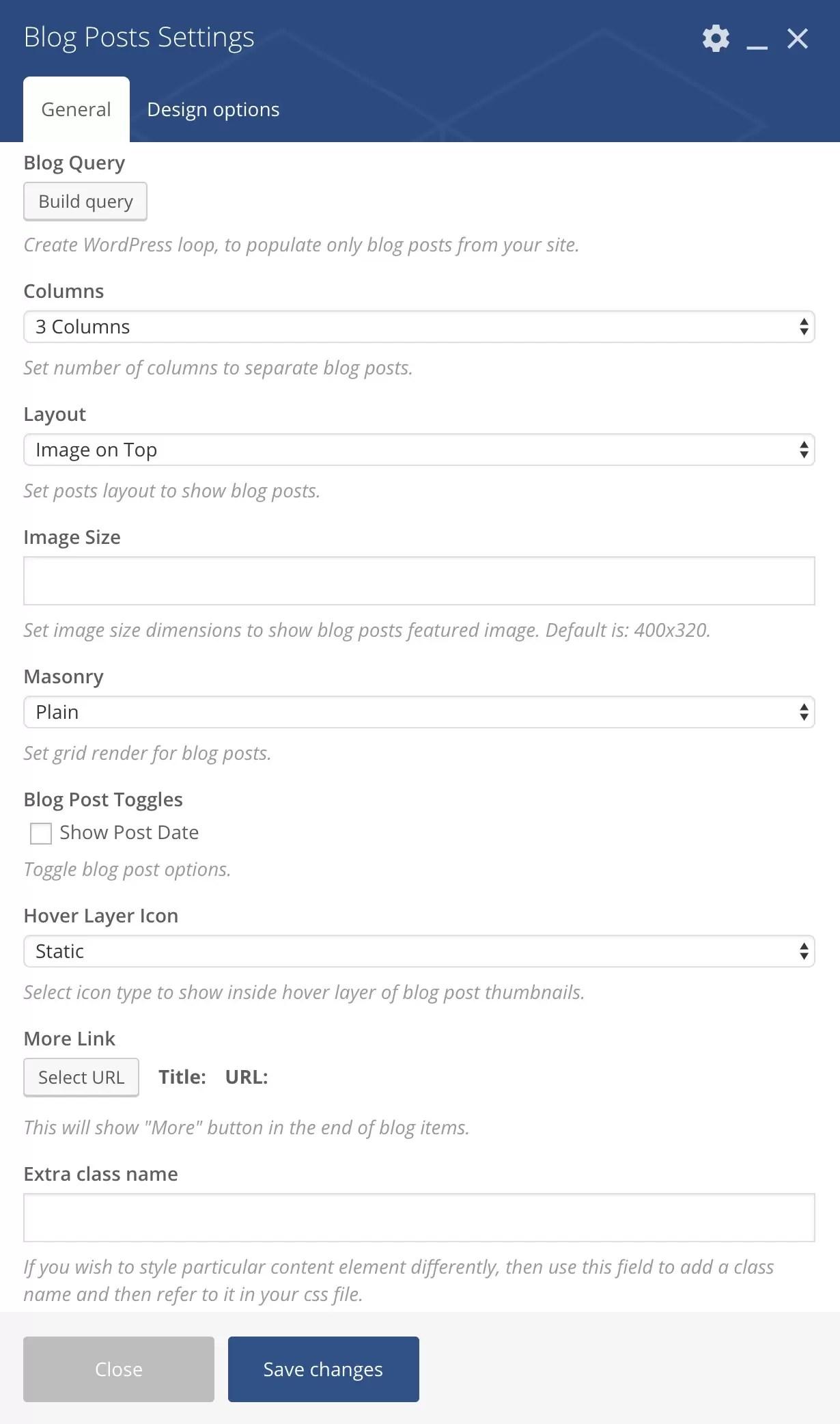 Wordpress Blog Query