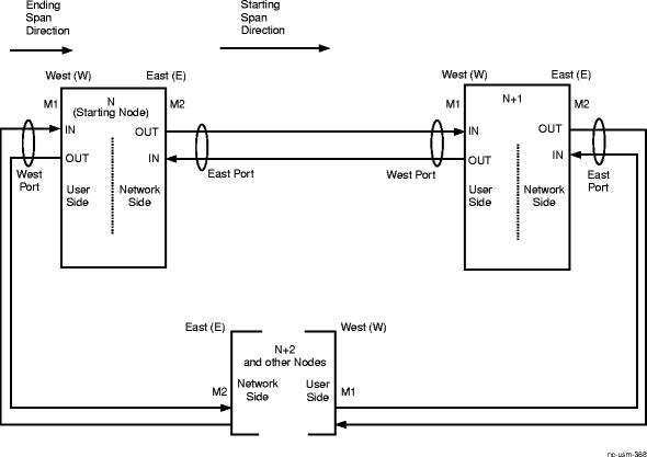 Establish high-speed BLSR network