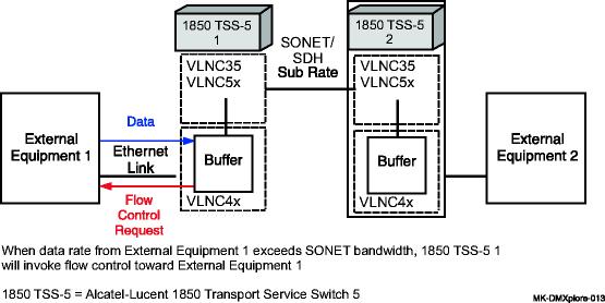 Ethernet transport over SONET/SDH