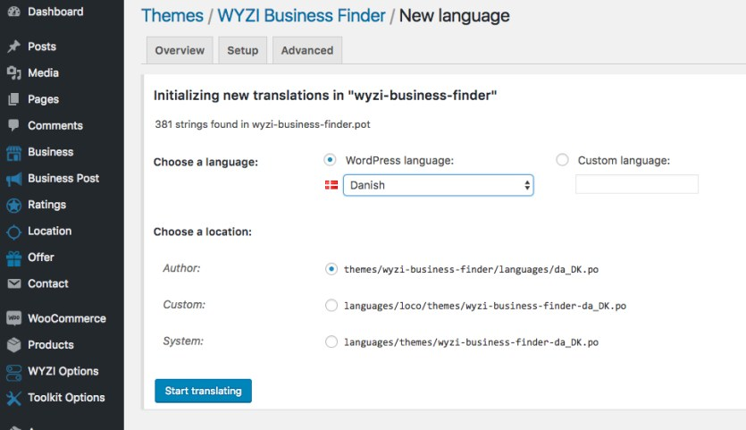 loco-translate-new-language-wyzi