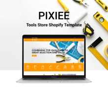 Pixee – Tools Store Shopify Theme Download