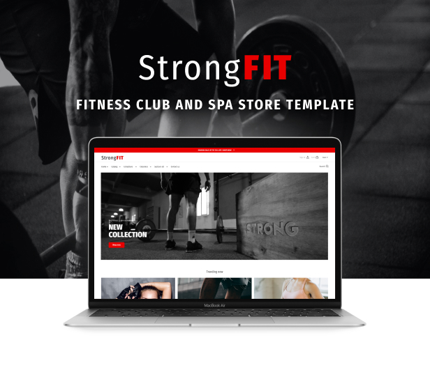 StrongFit - Fitness Club Shopify Theme for Beauty Spa Salon and Wellness Center - 2