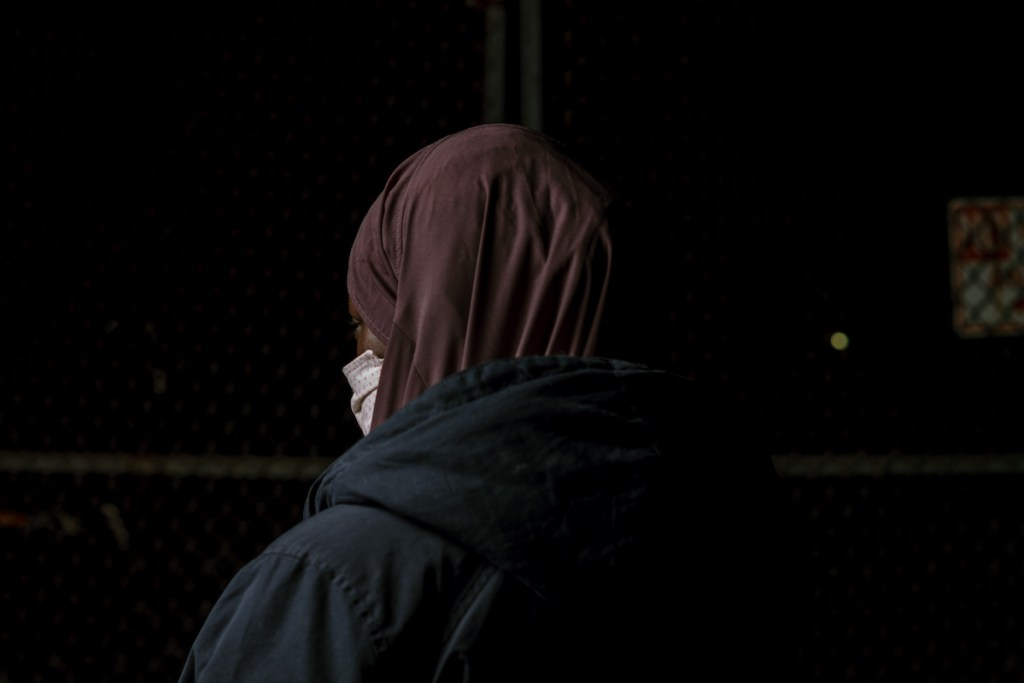 FBI agents accompanied Fatma to immigration court. Credit: Scott Heins for Documented