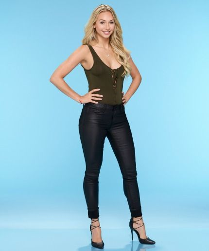 The Bachelor's Corinne Olympios Says She's Not Engaged