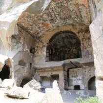 Ihlara Valley, Eğritaş Church, nave.